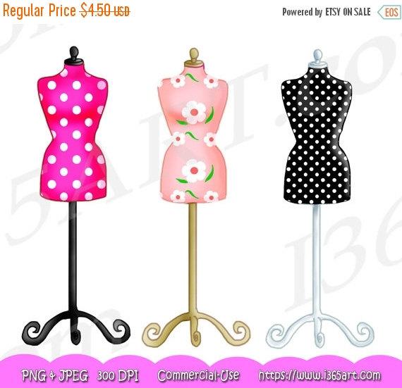 Yellow Dress clipart dress form Graphic Set I365Art OFF Dress