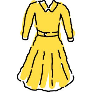 Yellow Dress clipart fashion dress Art dress%20clipart Clip Clipart Clipart