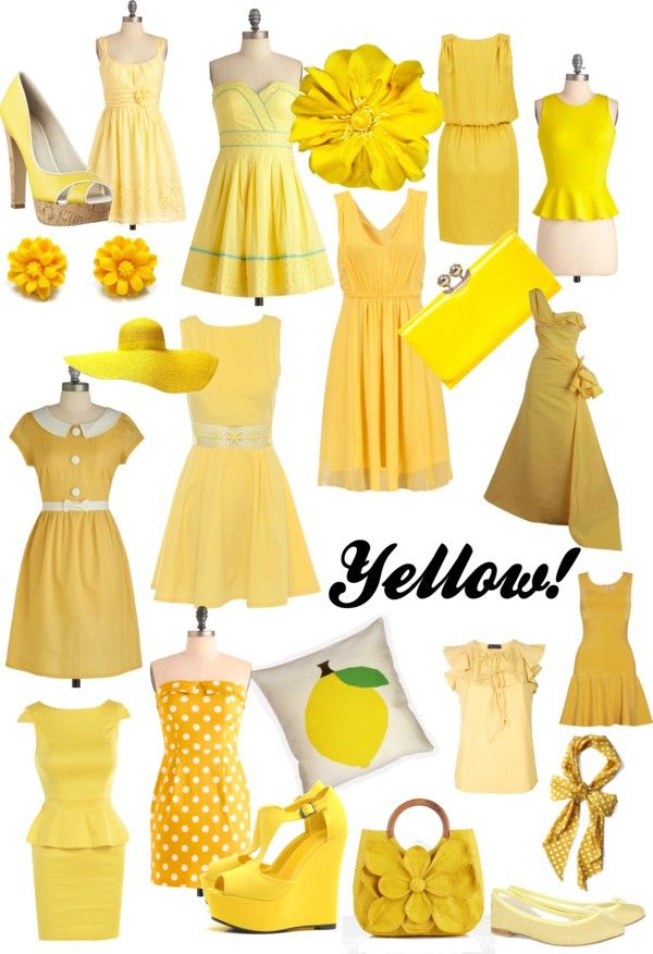 Yellow Dress clipart fashion dress And on best Find Shades