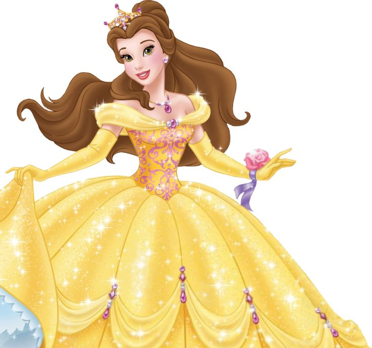 Yellow Dress clipart princess costume Princess Belle Belle Princess Court