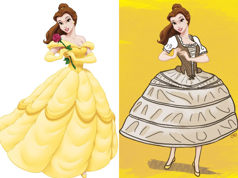 Yellow Dress clipart princess costume Accurate If underwear  Princesses