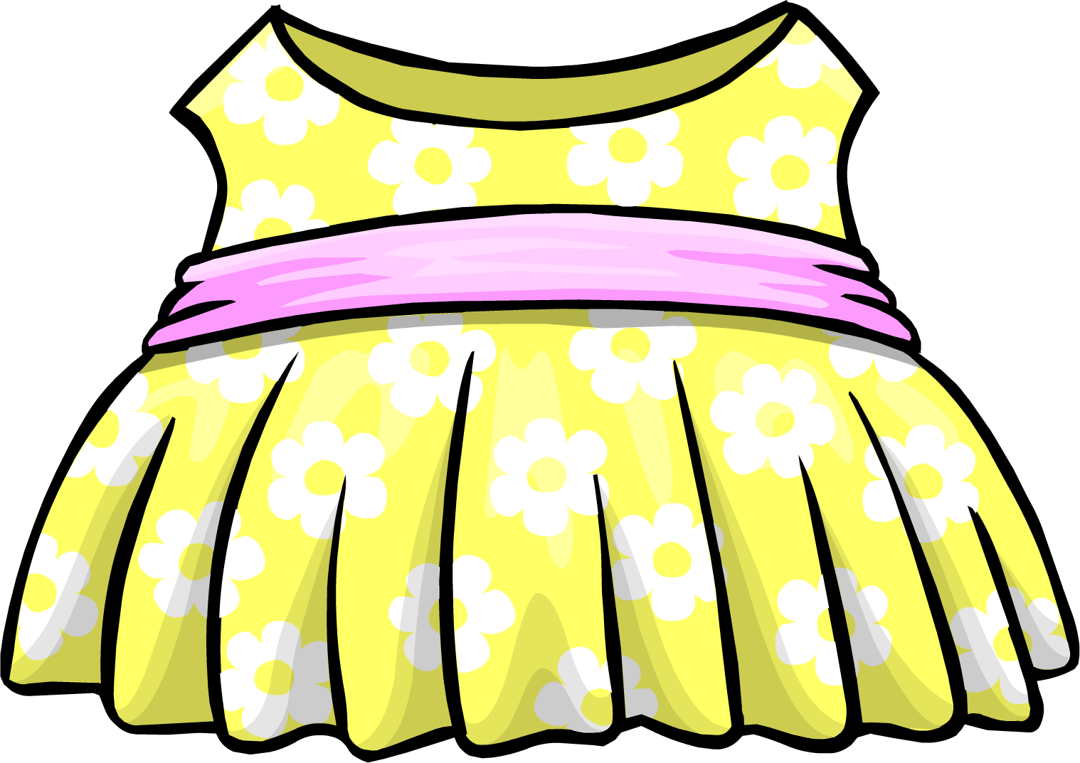 Yellow Dress clipart sundress Yellow powered Sun Penguin by
