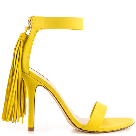 Sandal clipart yellow shoe #5