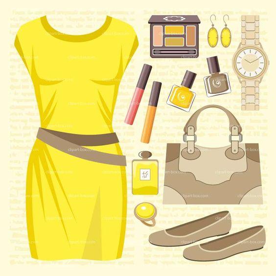 Yellow Dress clipart yellow shoe DRESS YELLOW vector DRESS free