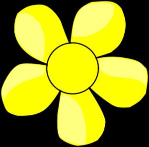 Yellow Flower clipart Art Flower clip Clip vector