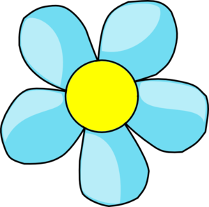 Yellow Flower clipart Blue Yellow And Flower