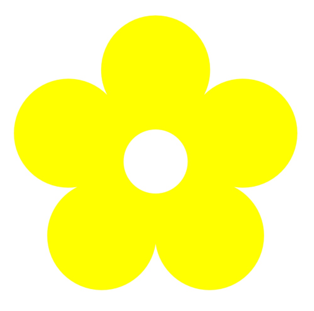 Hippies clipart yellow flower Flowers Free Clip Clip Free