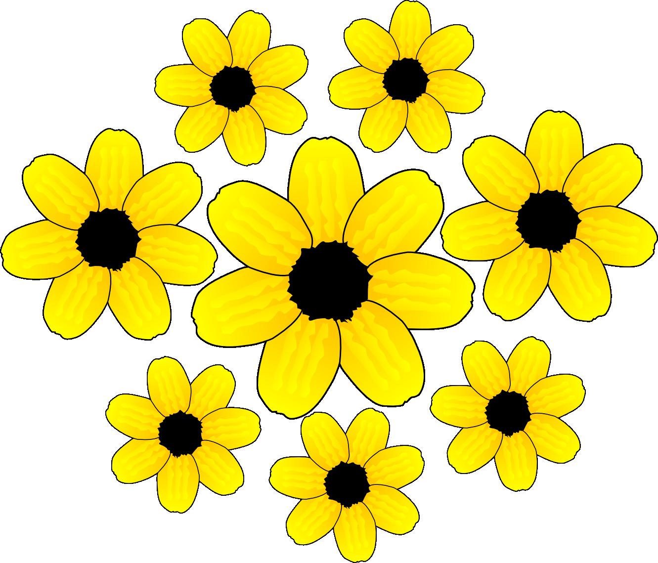 Yellow Flower clipart Clip art art Flower clip