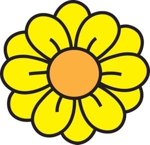 Yellow Flower clipart Flower Flower clipart Yellow Flower