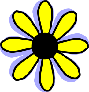 Yellow Flower clipart animated Flower vector Clip online Clip