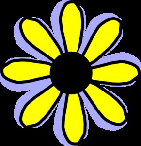 Yellow Flower clipart animated Flower Clip Clker com Art