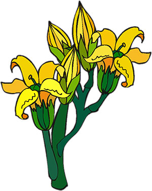 Yellow Flower clipart animated Flowers with Animations buds Clipart