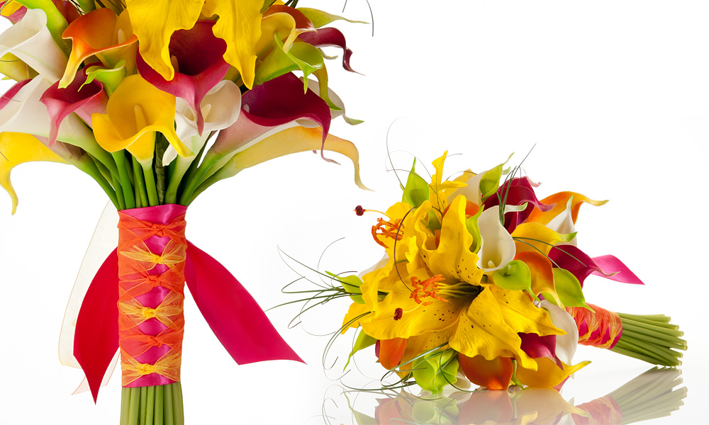 Yellow Flower clipart caribbean Party bouquet bridal flowers yellow