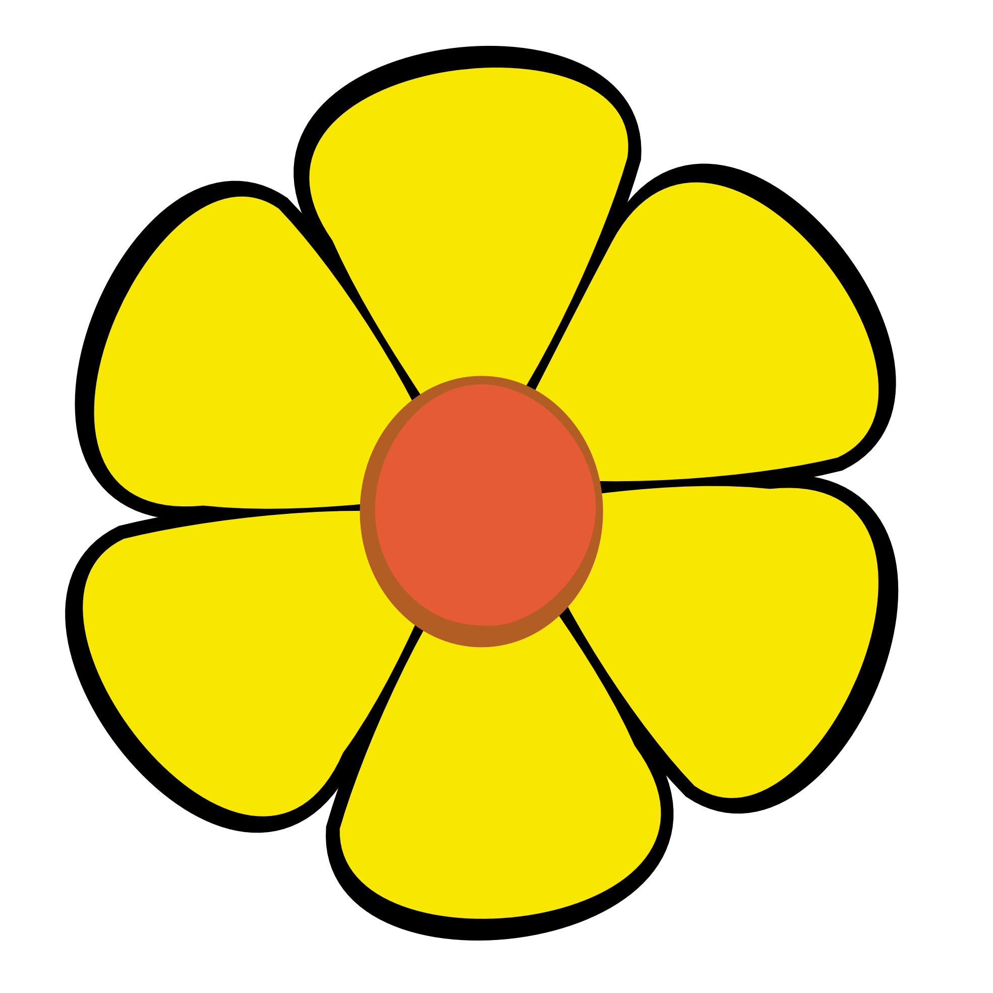 Yellow Flower clipart february flower Png clipartsy Flower Flower Flower