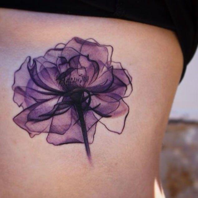 Yellow Flower clipart february flower Tattoo Pinterest 25+ ideas tattoo