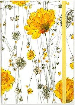 Yellow Flower clipart february flower Format Diary)  (Notebook Journal