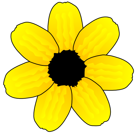 Yellow Flower clipart february flower 555px about 110 » Flora