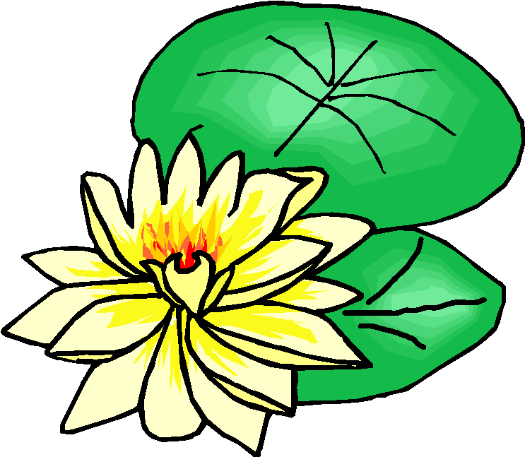 Yellow Flower clipart february flower Clipart: Clipart Free Microsoft February