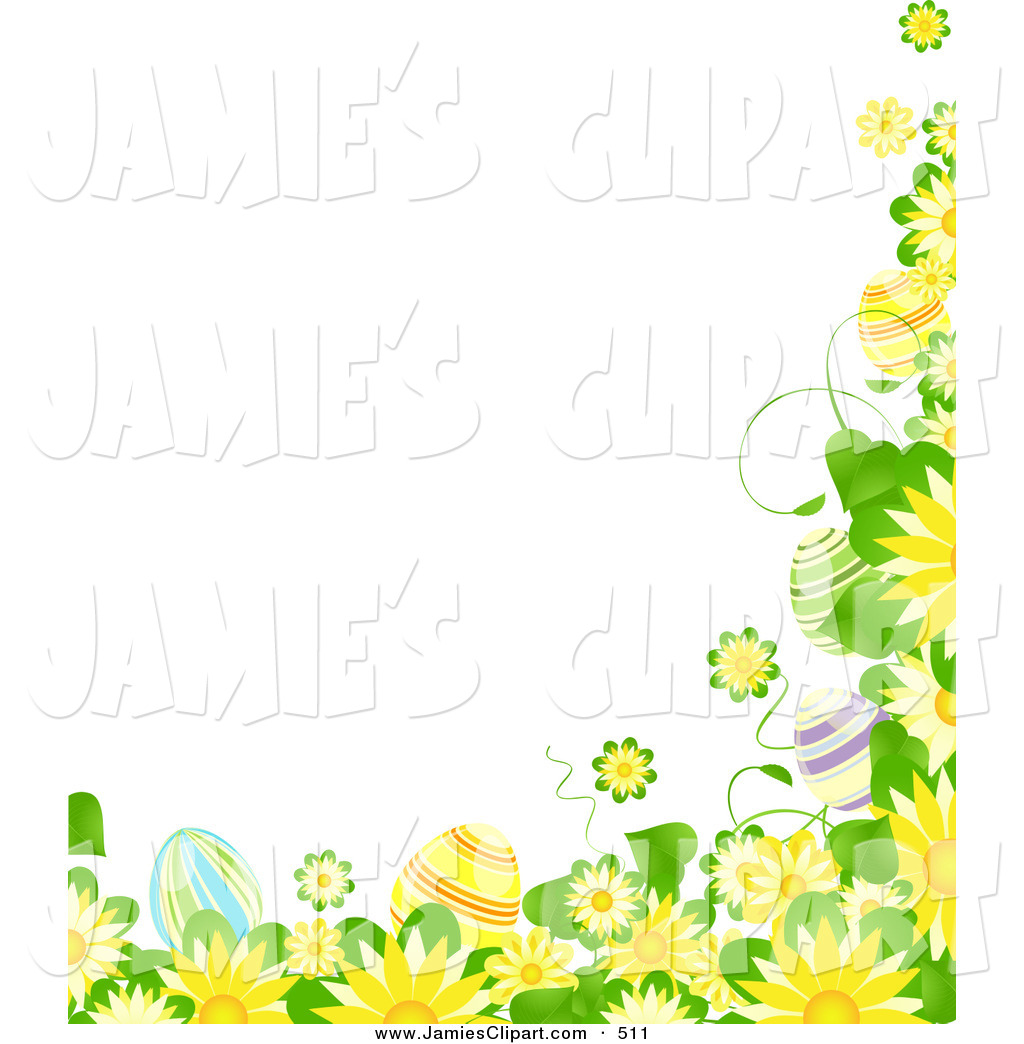 Yellow Flower clipart flower leaves Yellow Art Green of Green