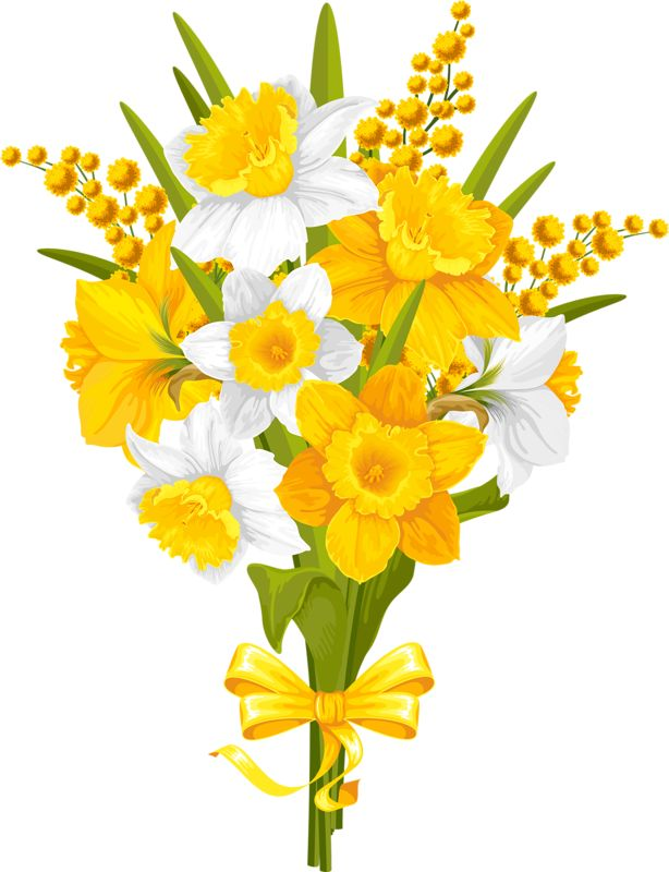Yellow Flower clipart flower power 391 Pinterest this and Find