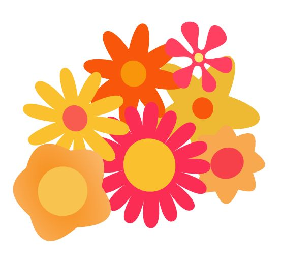 Yellow Flower clipart flower power 126 Pinterest this and Find