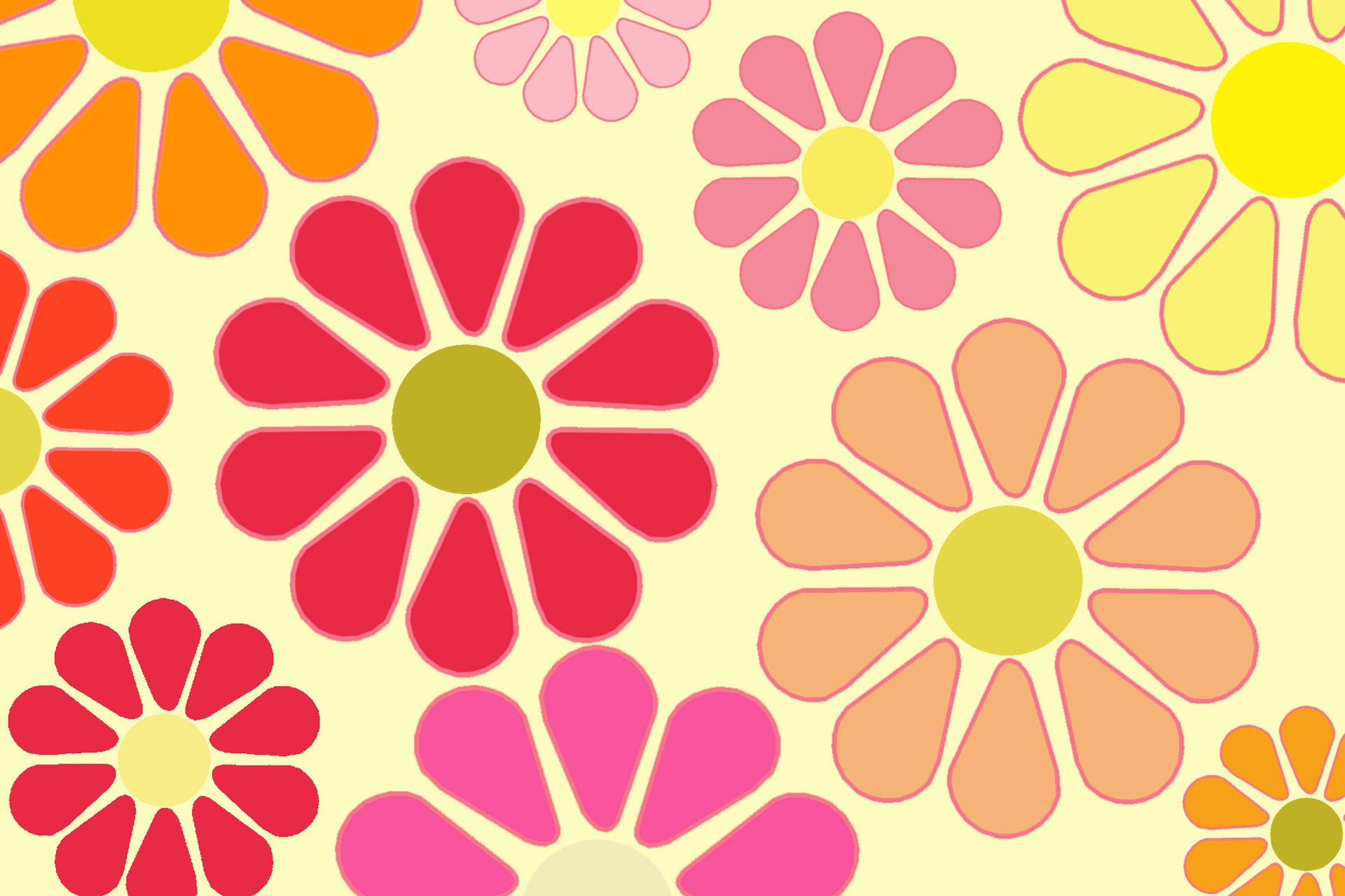 Yellow Flower clipart flower power Power  Art power (1)