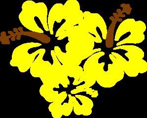 Yellow Flower clipart hibiscus flower Com Yellow  art Flower