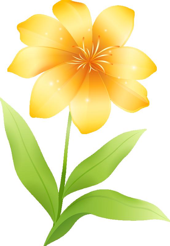 Yellow Flower clipart png format Clipart Yellow Flower Flower clipart
