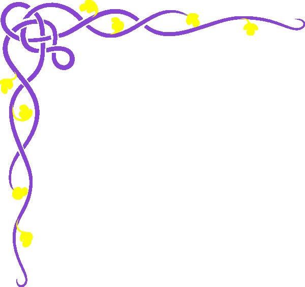 Yellow Flower clipart purple flower Flower Clip purple Purple Yellow