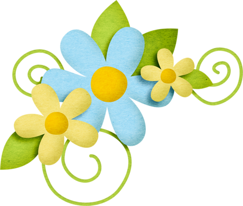Yellow Flower clipart scrapbook png Find (5) and Clipart