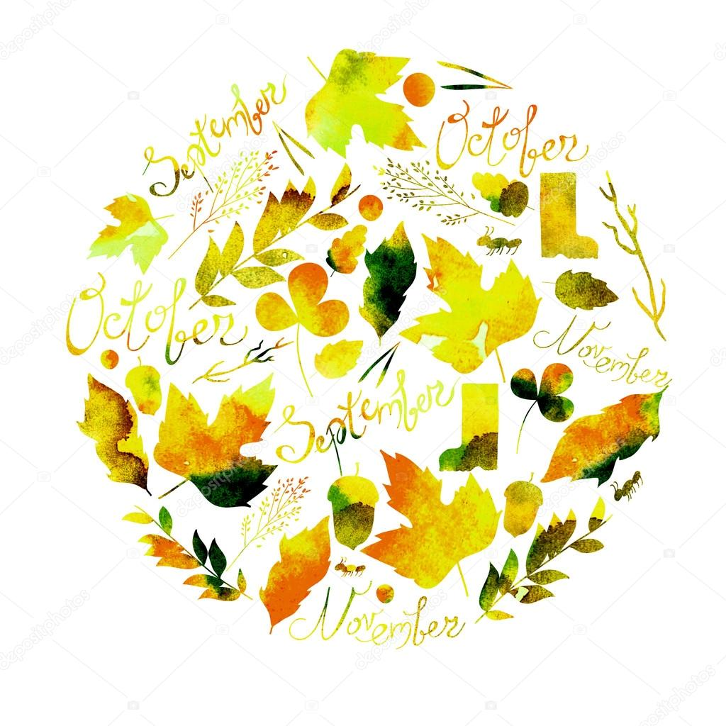 Yellow Flower clipart september flower Depicting yellow September of flowers