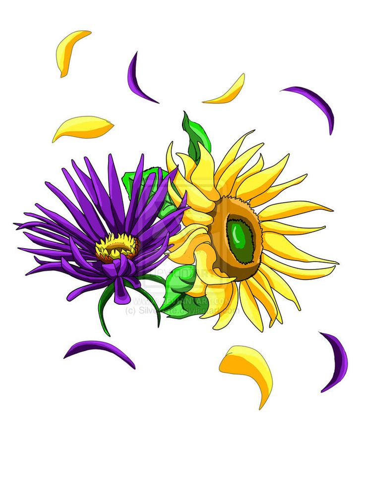 Yellow Flower clipart september flower Flower Pinterest Aster Tattoo Best