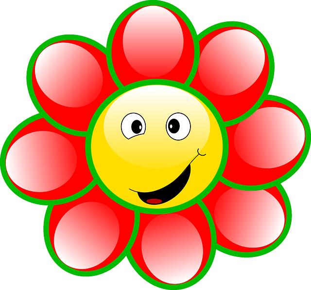 Yellow Flower clipart smily Pesquisa Pinterest  desenho Smileys