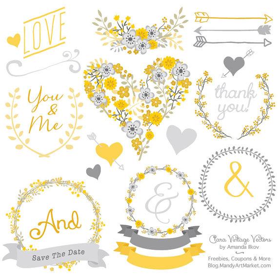 Yellow Flower clipart sunshine Art Clipart Premium Vectors Art