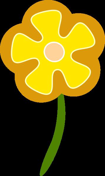 Yellow Flower clipart vector Clipart clipart clip Flower art