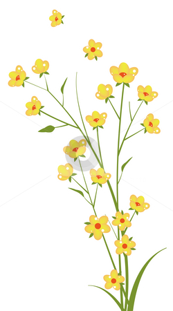 Wildflower clipart yellow flower Flower Yellow flower photo A