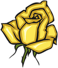 Yellow Rose clipart animated Rose Clipart Rose Yellow animated