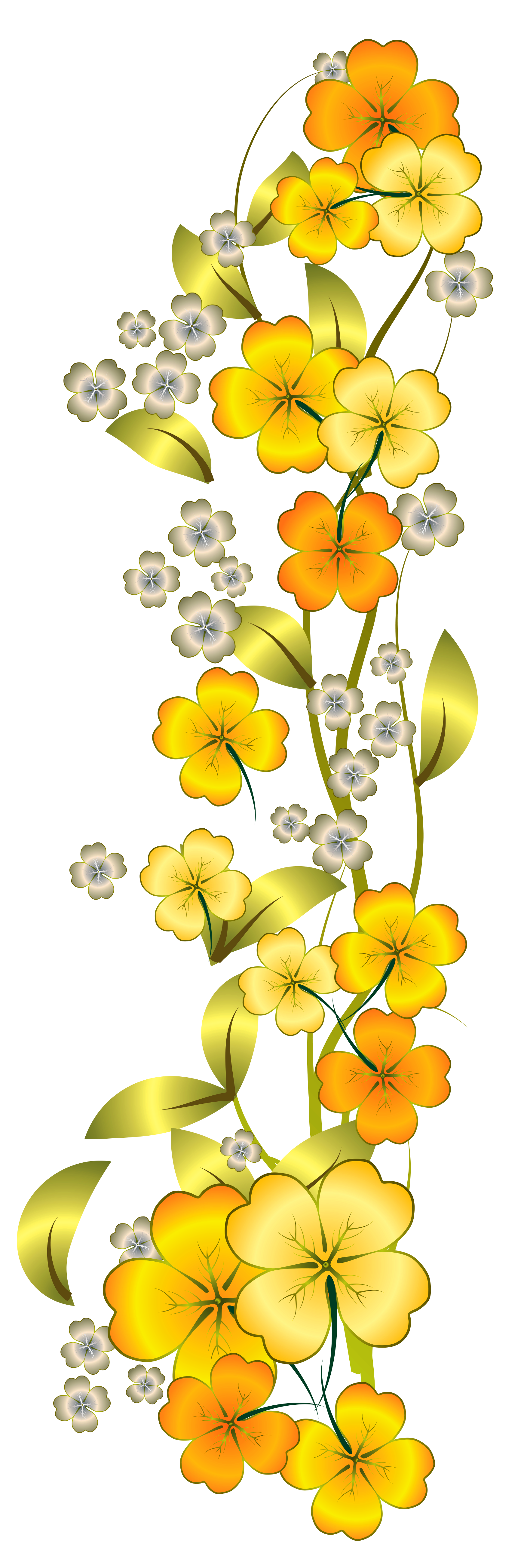 Yellow Rose clipart gold decoration #14