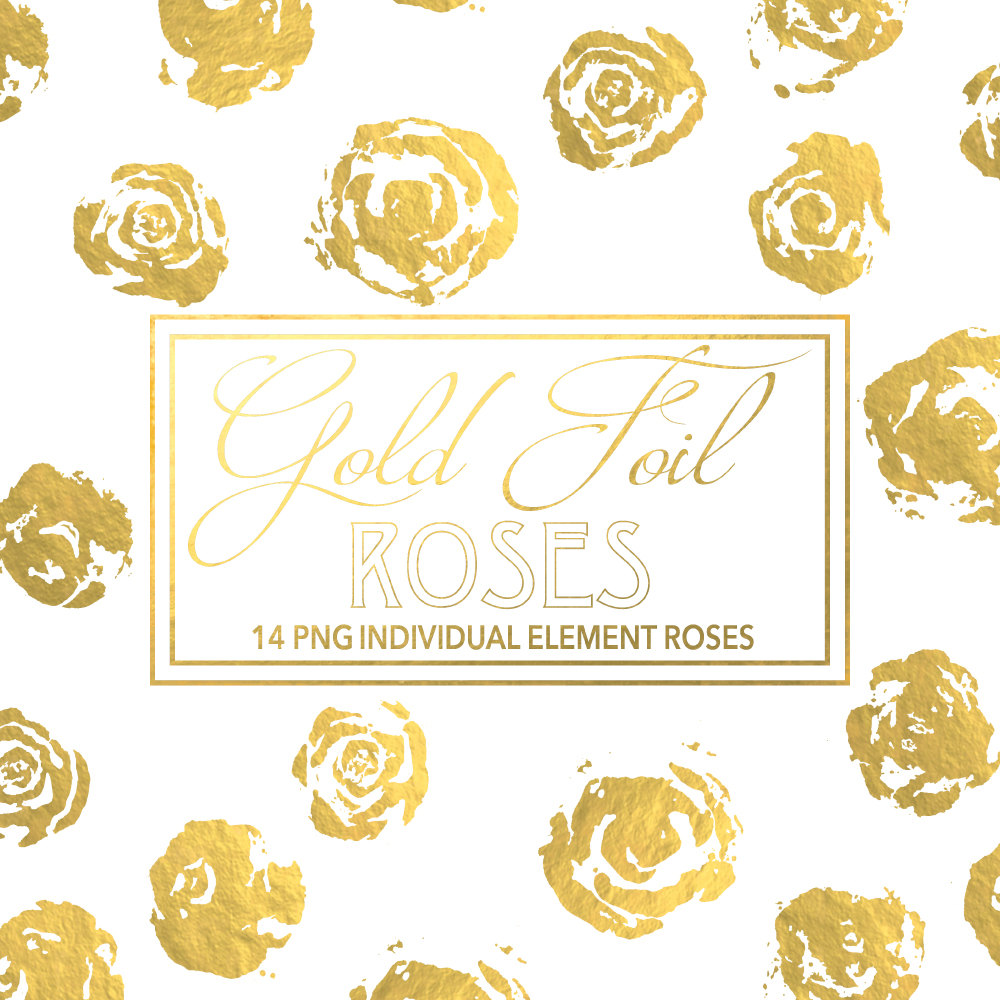 Yellow Rose clipart gold element Elements watercolour Roses Floral flowers