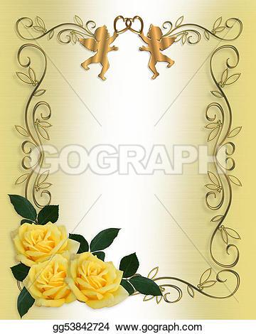 Yellow Rose clipart gold heart #3