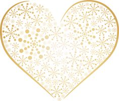 Yellow Rose clipart gold heart OF ‿✿⁀♡♥♡❤ Yellow ❣Hearts❣ Heart