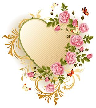Yellow Rose clipart gold heart ꧁Hearts Pinterest on this &