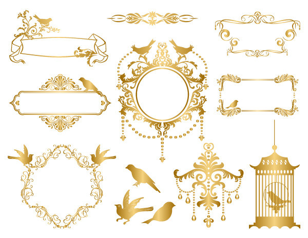 Cage clipart gold Clipart ClipArt clipart Frame Cage