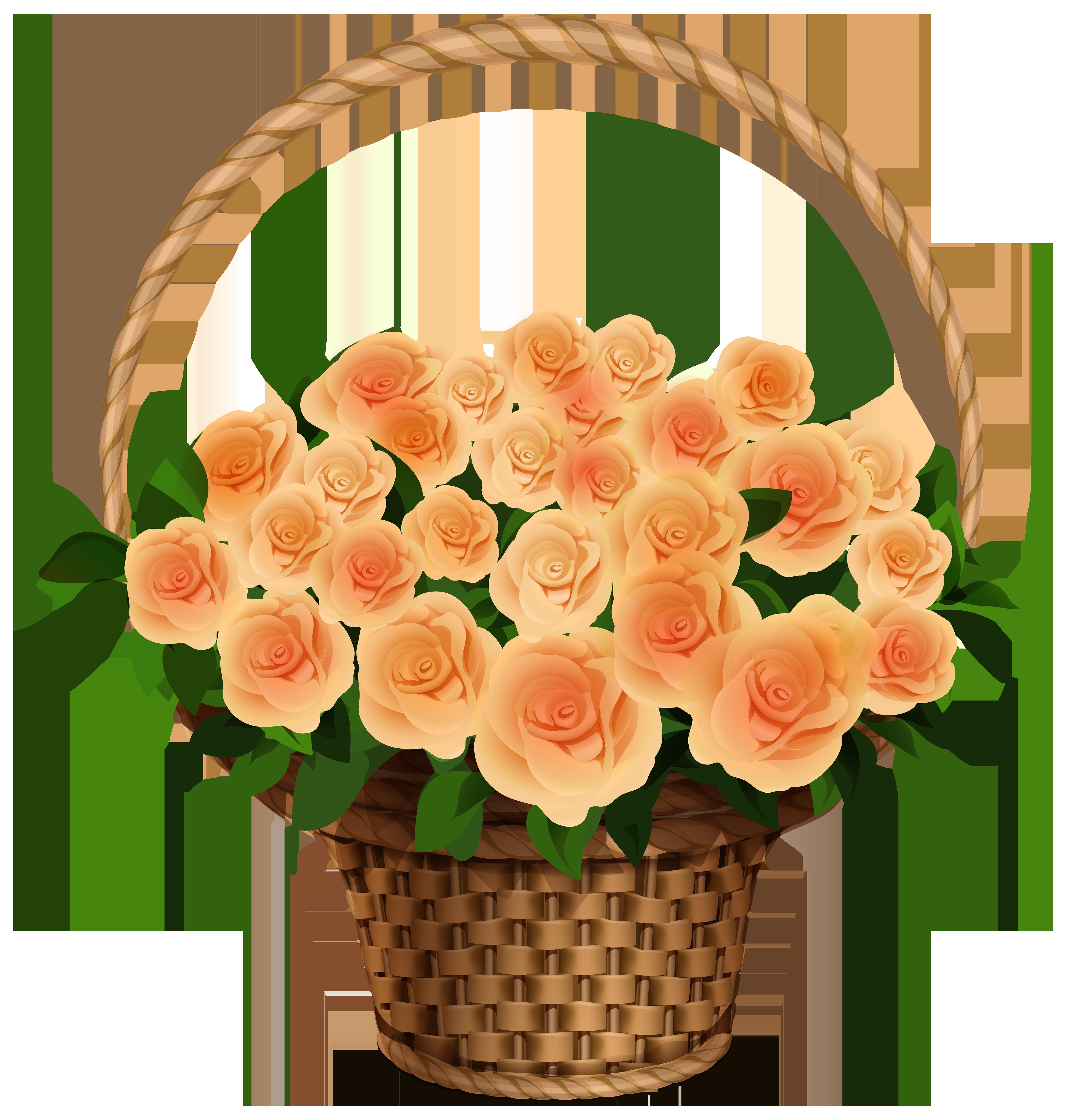 Yellow Rose clipart orange rose · size free Clipart Basket