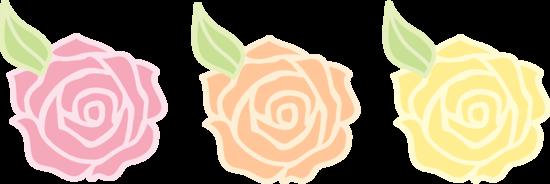 Pink Rose clipart cartoon Clip Orange and Art Art