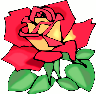 Red Flower clipart r0se #3