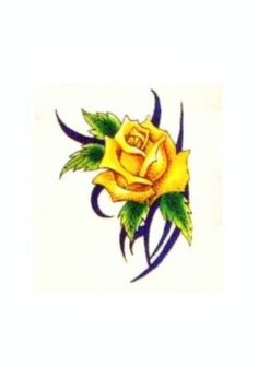 Yellow Rose clipart rosebud #8