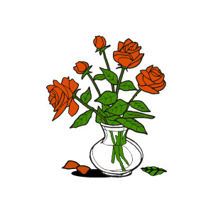 Yellow Rose clipart rosebud #13