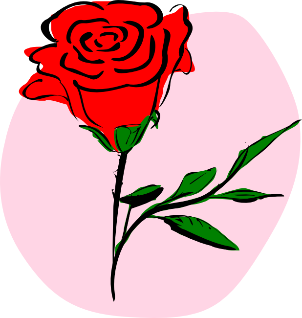 Cartoon clipart rose Red Rose Animations Vectors Rose