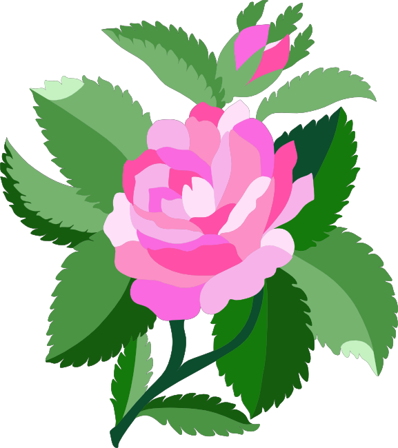 Peach Flower clipart animated flower Animations Rose Free Pink and